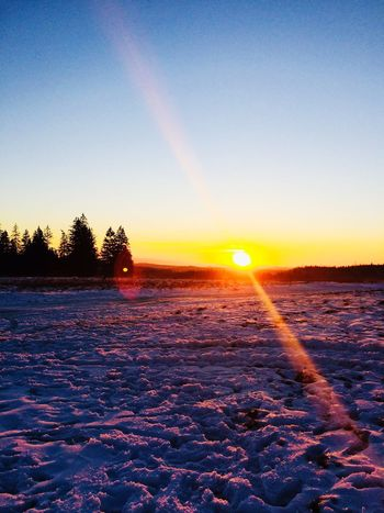 Cold Temperature Scenics Snow Sun No People Sky Tree Outdoors Idyllic first eyeem photo