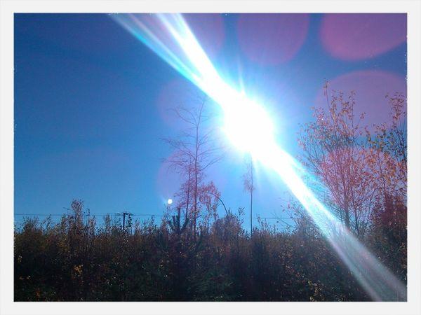 Narke Nature Sweden Solar Flare