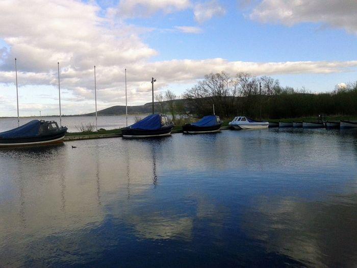 Loch Leven Loch  Scotland Reflection Cloud - Sky Nautical Vessel Sky Water Outdoors No People Day