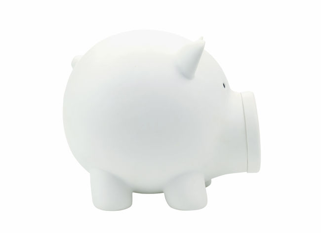 Business Currency Finance Investment No People Piggy Bank Savings Studio Shot Wealth White Background