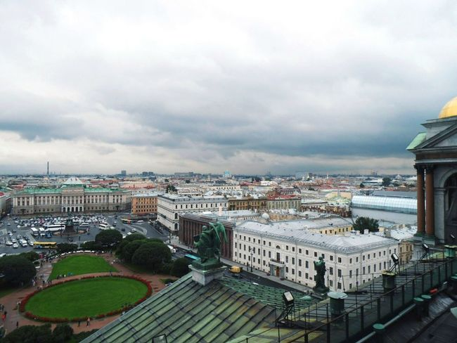 Stpetersburg Isaakievskiy Sobor Isaac's Cathedral City Cityscape Architecture Travel Destinations Outdoors First Eyeem Photo