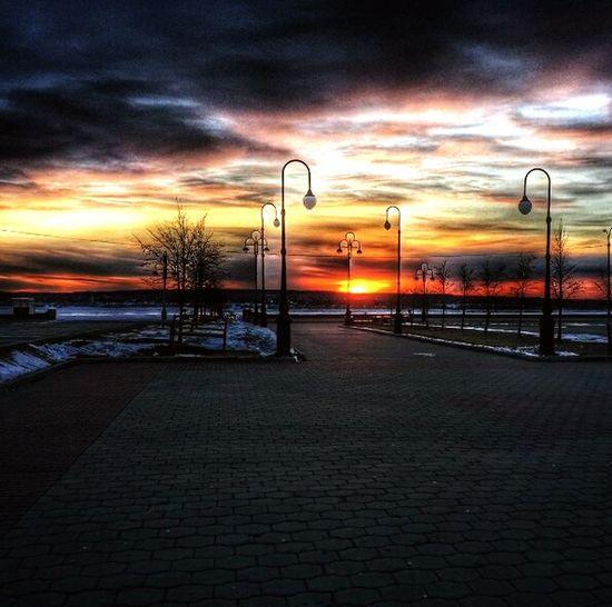 Sunset Cloud - Sky No People Outdoors Night Sky Nature Oil Pump Tomsk Tomskgram Tomsk Region