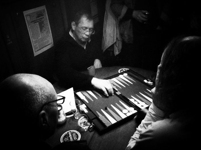 Backgammon Making A Next Move