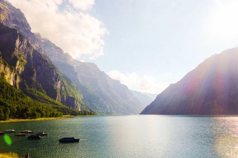 Switzerland Lake Lake View Mountain Lake Countryside Water