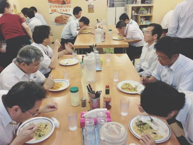 Lunch Time! Having Lunch Tokyo