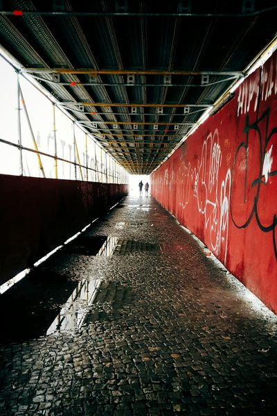 My Fuckin Berlin Vanishing Point Streetphotography Rainy Days From My Point Of View The Changing City Learn & Shoot: Leading Lines My Best Photo 2015 Capture The Moment I Love My City Red