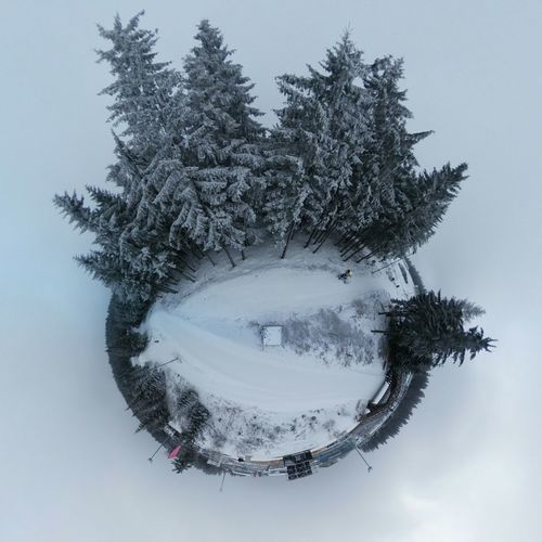 Tree Branch No People Shape Abstract Motion Christmas Cold Temperature Outdoors Nature Close-up Day Miniplanete Miniplanet Theta360 Theta Samsung Galaxy Camera