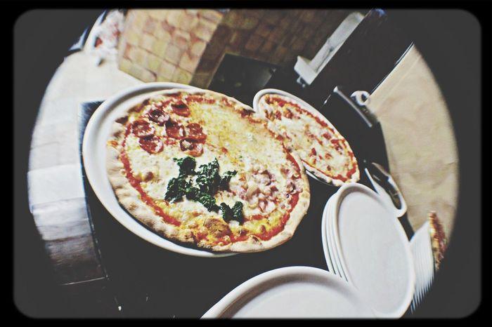 Pizza Shamrock Irish Pub Live To Eat Fisheye