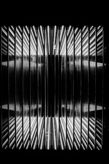 Interval Gap Space Lines LINE Lines And Shapes Space LED Led Lights  Reflection Glass Reflection Darkness Indoors  No People Blackandwhite Black And White Dark Glass - Material Glass SLICE Illuminated Pattern Darkroom EyeEmNewHere