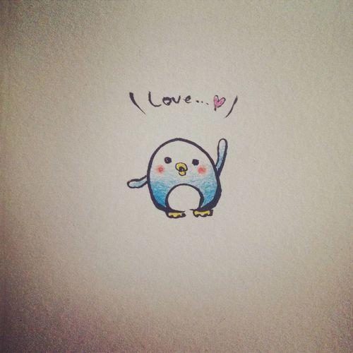Penchan Penguin My Drowing Love YohkoAmaterraArt