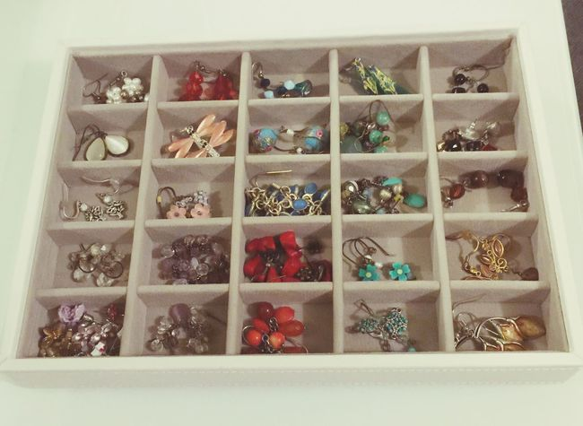 Jewellery Box Jewellry Things Organised Neatly