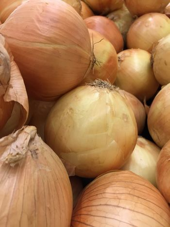Produce market onions Textures and Surfaces Stacked Cooking Produce Farmers Market Onions EyeEm Selects Food And Drink Food Healthy Eating No People Vegetable Freshness Close-up Market Retail