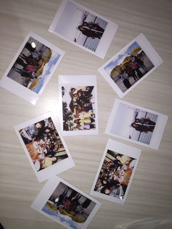 I'm happy to share some happy moments from there vacation through Fujifilm Printer Polaroid Pictures