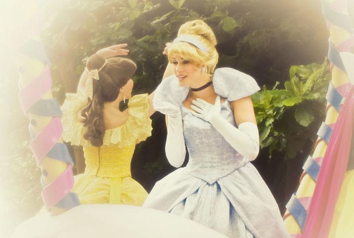 Cinderella Taking Photos Disney