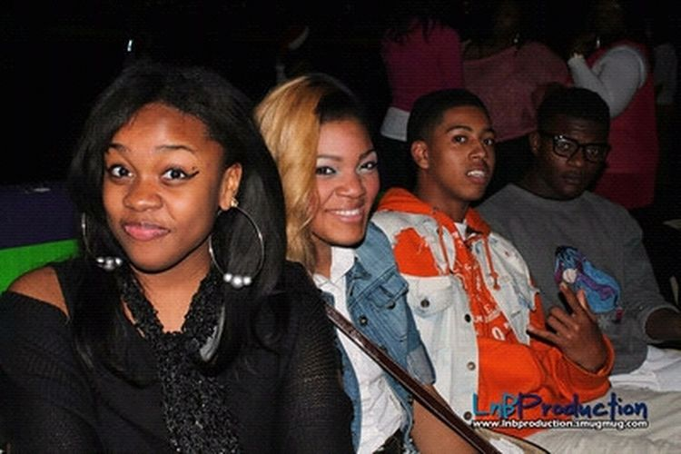 Old Bt At MDL Skate Night With Charity :) Chi Chi And My Nigga Coker