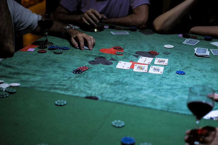 Poker night Cards Chips Depth Of Field Enjoyment Friendship Fun Fun Having Fun High Angle View Multi Colored People Playing Playing Games Poker Selective Focus Still Life Textured