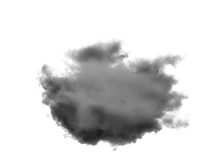 Clouds Isolated