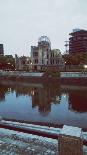 Atomic Dome Building Atomic Bomb Dome Nuke History Reflection Water Government Sky Architecture Travel Destinations Dome EyeEmNewHere