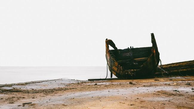 Shipwrecked Xiang River China Hunan Changsha Fujifilm FujiX100T