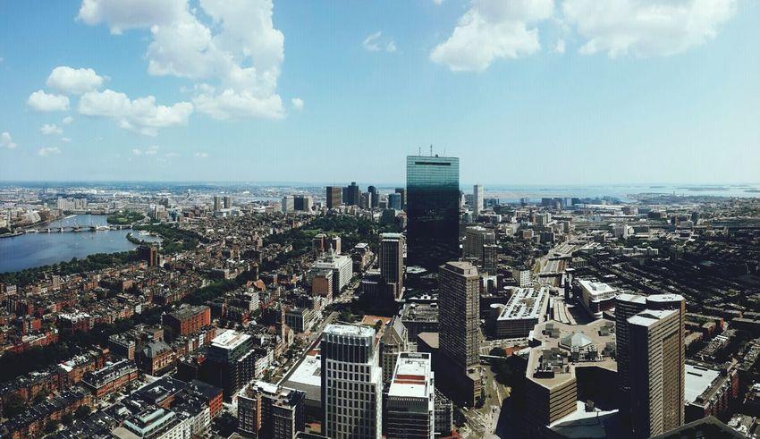 Boston Observatory Skyscraper