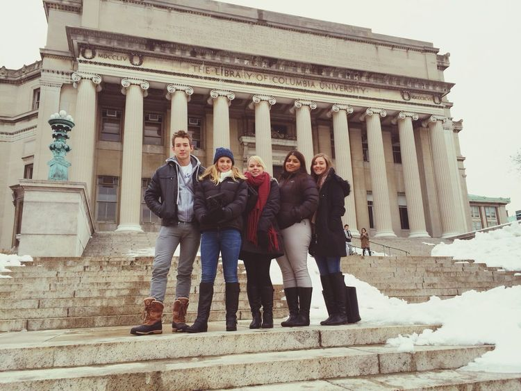 The library of Columbia University.