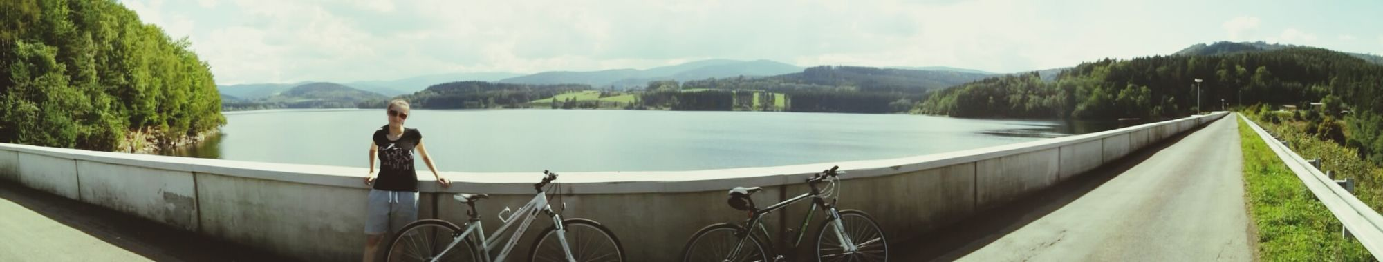 Girlfriend Cycling Nicetime
