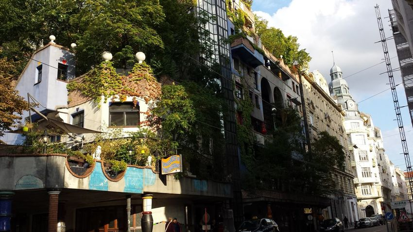 Hundertwasser City Architecture Urban Art Vienna