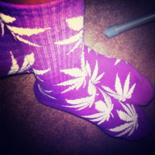 Weed, Huff Socks