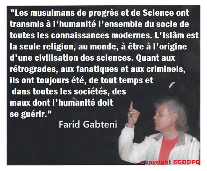 Civilisation Farid Gabteni Humanité Islam Islam Originel Le Soleil Se Lève à L'Occident Musulmans Religion Science