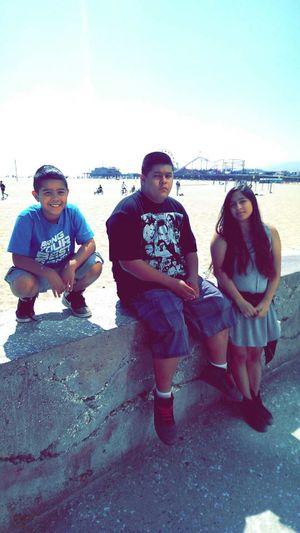 Da Fruit Flesh Of My Flesh Blood Of My Blood Love My Family ❤ Santa Monica Pier