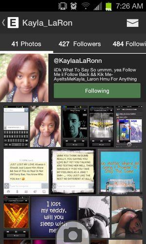 @KaylaaLaRonn Shout Out To This Pretty Girl.. @KaylaaLaRonn