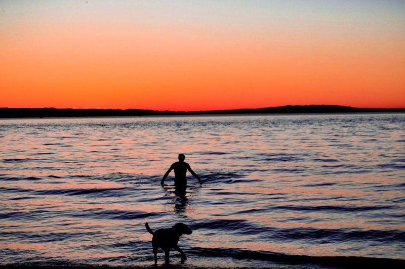 Sea Sunset One