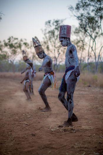 Australia Children Dancing Expedition Native Outback Travel Photography Aboriginal Art Adventure Ceremony Child Childhood Dirt Motion The Traveler - 2018 EyeEm Awards