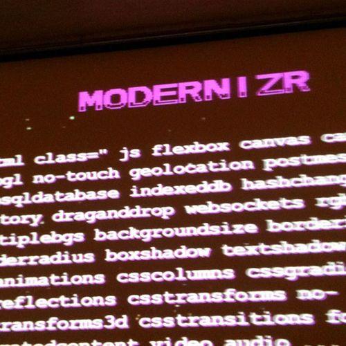 Modernizr Javascript CSS Webvisions