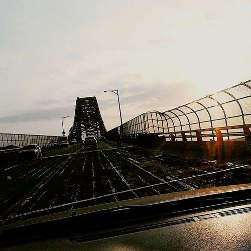 Puente De Las Americas Morning Light New Day Panama Paradise Sun Morning After Dark