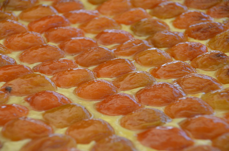 Apricot Tart Apricots Tart Fruit Dessert Bakery Pastries Pastry Baked Goods Bakedgoods Homemade Food Farmersmarket Bakery Cafe Marketplace Farmer's Market Stuart, Fl Farmers Market Food Photography Food Market Foodmarket ApricotPattern, Texture, Shape And Form Orange Treasure Coast 43 Golden Moments