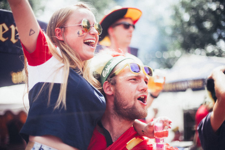 Football Adult Celebration Drinking Emotion Enjoyment Event Fashion Festival Friendship Glasses Leisure Activity Lifestyles Love The Game Men Outdoors People Positive Emotion Real People Soccer Sunglasses Togetherness Women Young Adult Young Men My Best Photo