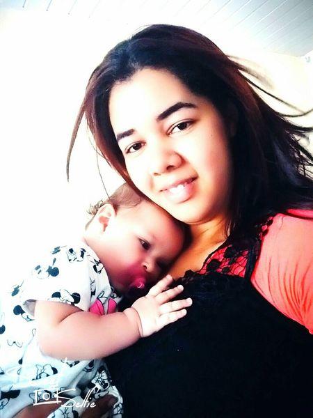 Com minha Princesa ❤ Livia Sono Horadenanar Amo Mais Q Chocolate ❤ Dia Perfeito!