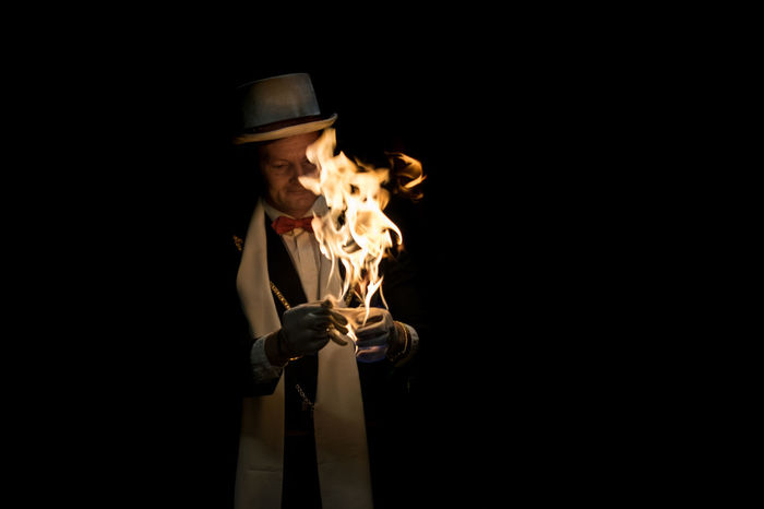 Fire-ator xd Fire Fire And Flames Flames Illusionist Magical Magician Spell Trick
