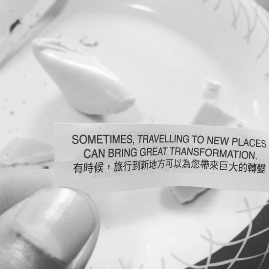 Fortheloveofblackandwhite Fortune Cookie SoTrue💯💯💯💯💯💯💯💯💯 Traveller Chefonboard
