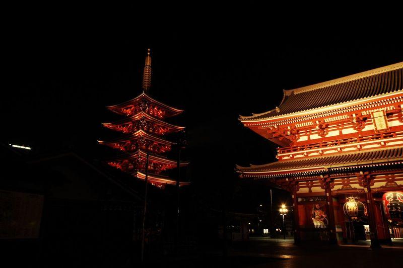あさくさ2 Japan Asakusa City Illuminated Lantern Chinese Lantern Festival Place Of Worship Chinese New Year Cultures Chinese Lantern Celebration Red