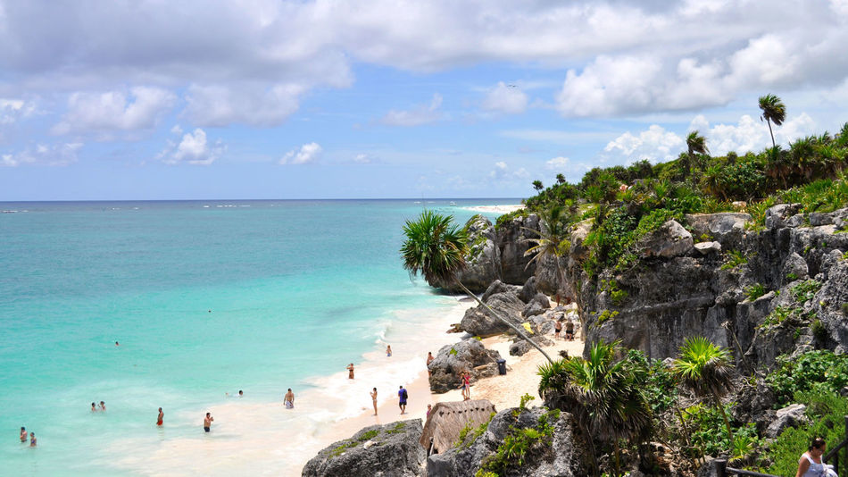 Beach Beachphotography Life Is A Beach Mexico Tulum Mexican Riviera RePicture Travel Faces Of Summer Landscapes With WhiteWall Paradise The KIOMI Collection