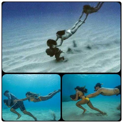 Su Deniz Okyanus Dalmak Yuzmek
