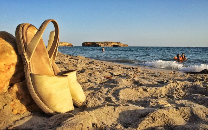 Binigaus, Menorca Beach Taking Photos Enjoying Life Iphone5s Photography IPhoneography Menorca Relaxing Eyem Gallery Shoes