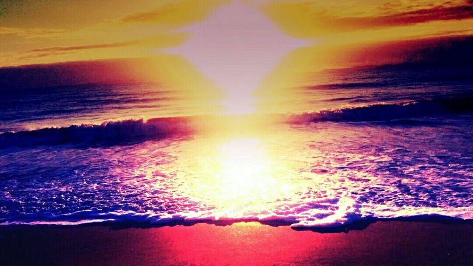 Sunrise BeachSunrise Colorful Beautiful Nature Seascape Colorful Sunrise Brilliant Colors Morning Sky