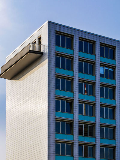 URBANANA #urbanana: The Urban Playground Ehrenfeld Architecture Available Light Blue Building Building Exterior Built Structure City Clear Sky Day Glass - Material Low Angle View Modern Nature No People Office Office Building Exterior Outdoors Shape Sky Skyscraper Streetphotography Sunlight Window