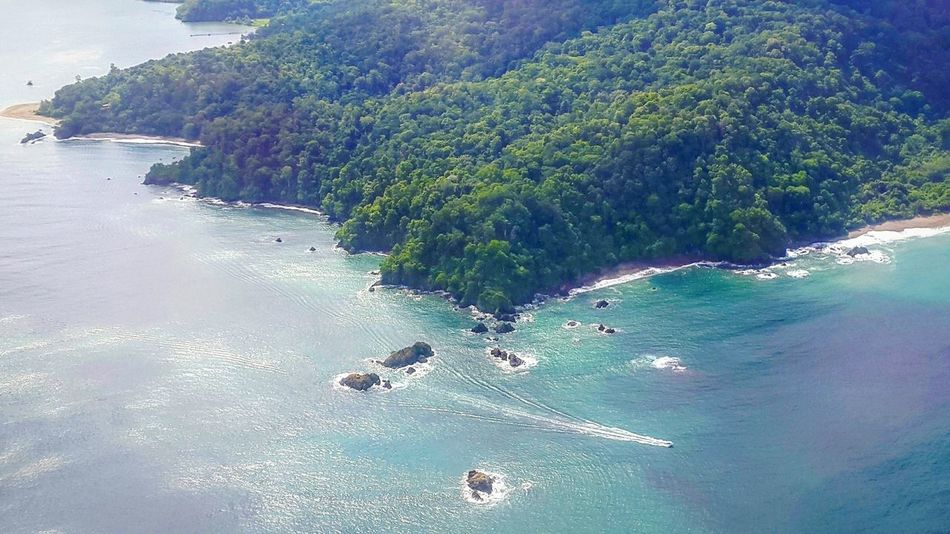 Hello World Travelling Pacific Ocean From Above  Aerial Photography Osapeninsula Aerial View Ocean Beach Costa Rica Sea Colour Of Life Outdoor Photography Eye4photography  Costa Taking Photos