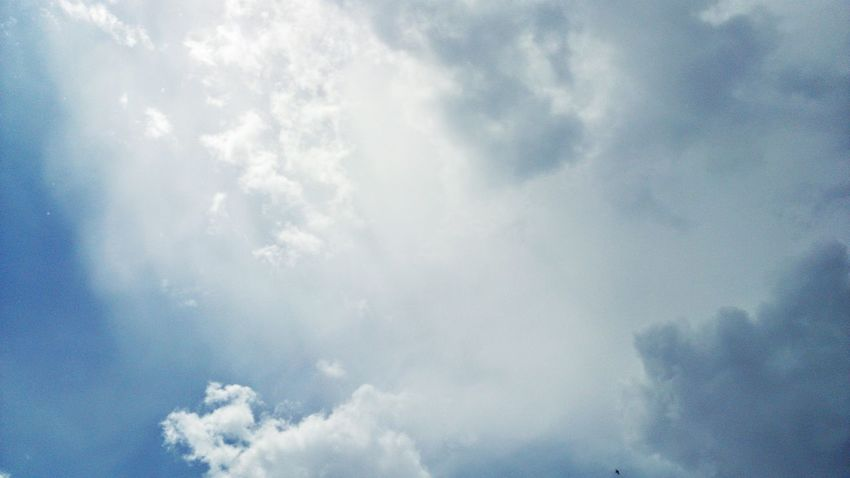 Magnifique Sky White Clouds Amazing View Greatness Atmosphere