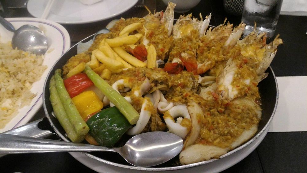 Food And Drink Ready-to-eat Plate Food Close-up No People Freshness Thailand_allshots EyeEm Thailand Seafoods Seafoodplatter Seafood Lovers Mix Yourself A Good Time