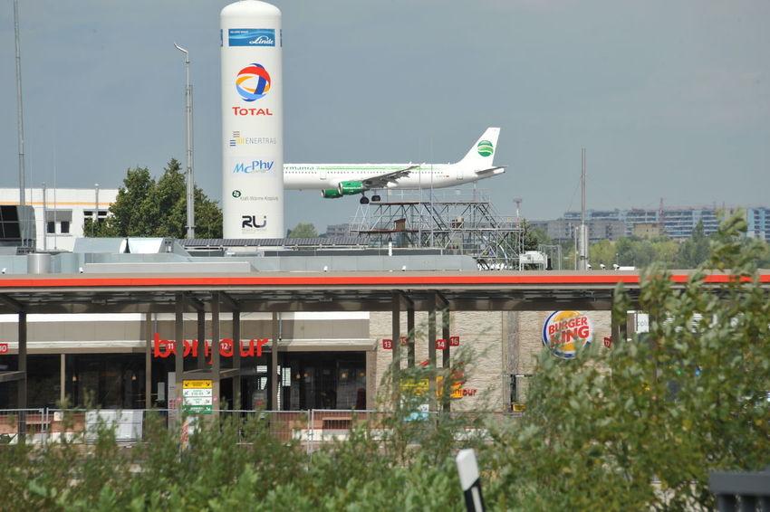Airport Berlin Germany East West Grenze Germania Schönefeld Airport Tankstelle Airline Airportphotography Landung